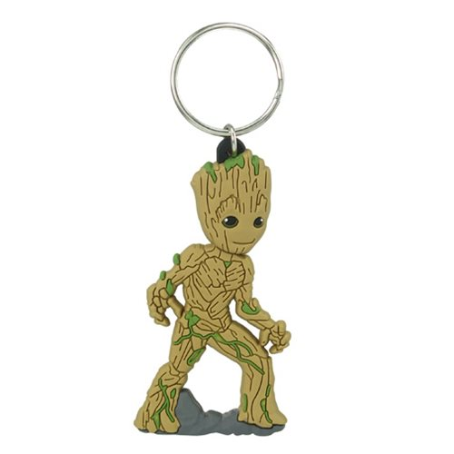 Guardians of the Galaxy Baby Groot Soft Touch PVC Key Chain