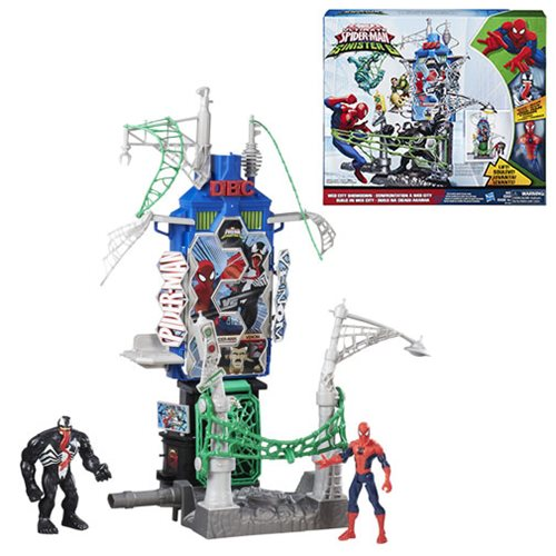 Ultimate Spider-Man Sinister 6 Web City Showdown Playset