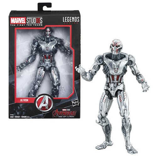 Marvel Legends Cinematic Universe 10th Anniversary Ultron 6-Inch Action Figure - Exclusive
