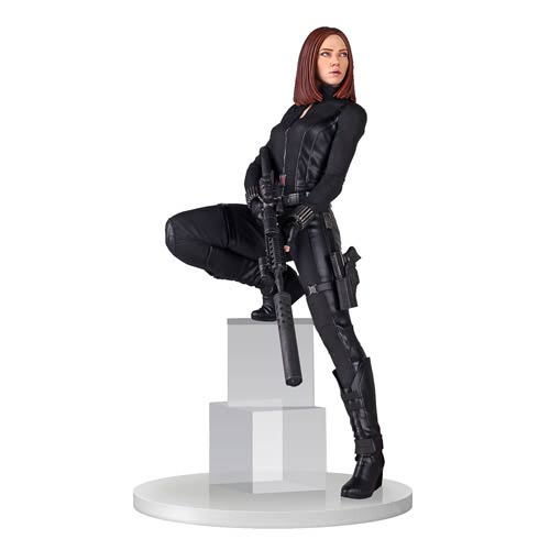 Captain America The Winter Soldier Black Widow 18-Inch Statue