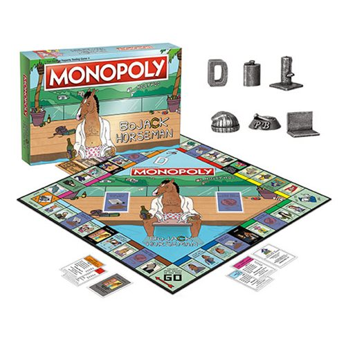 Bojack Horseman Monopoly Game Collectors Edition