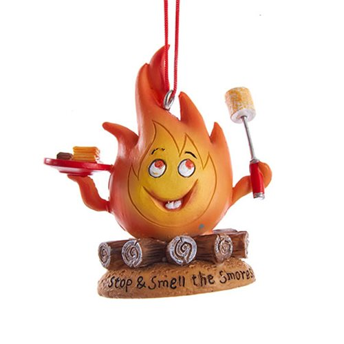 Campfire S'mores 2 3/4-Inch Resin Ornament