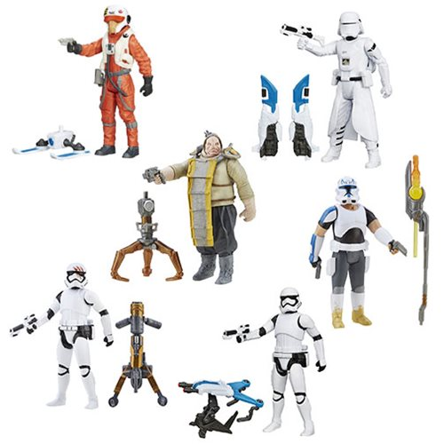 Star Wars: The Force Awakens 3 3/4-Inch Snow and Desert Action Figures Wave 4 Set