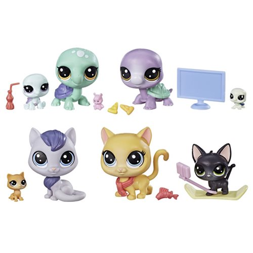 Littlest Pet Shop Pet Family Packs Wave 2 Set