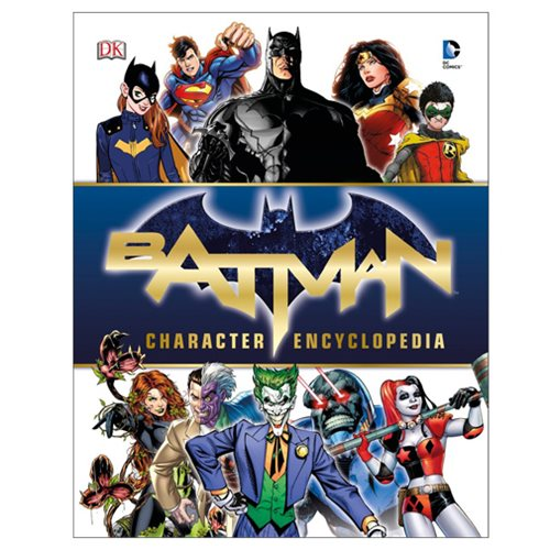 Batman Character Encyclopedia Hardcover Book