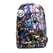 Overwatch Character Print Backpack