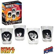 KISS Classic 2 oz. Shot Glasses Set of 4