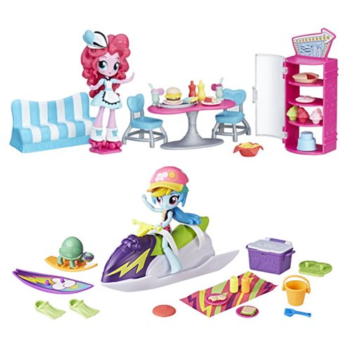 My Little Pony Equestria Girls Minis Scene Packs Wave 4
