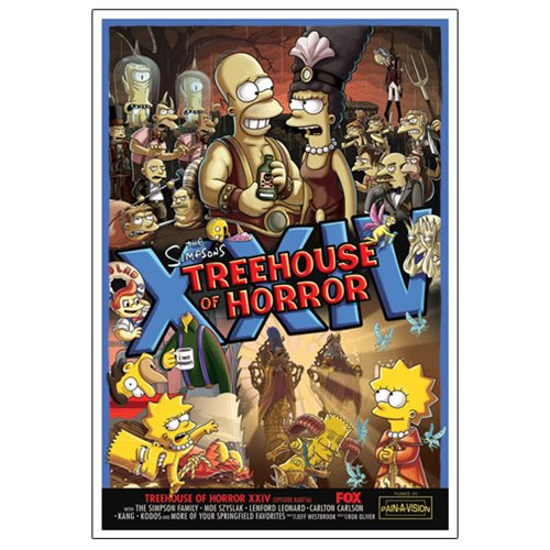 The Simpsons Treehouse of Horror XXIV Canvas Giclee Print