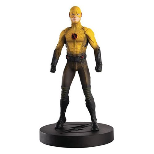 Flash TV Series Reverse-Flash Figure with Collector Magazine #4