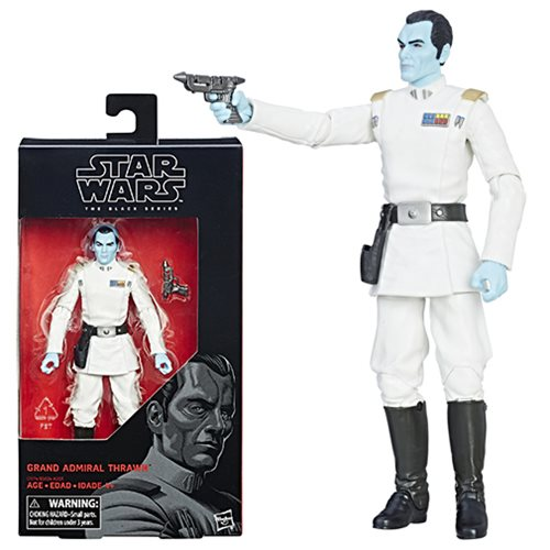 Star Wars The Black Series Grand Admiral Thrawn 6-Inch Action Figure