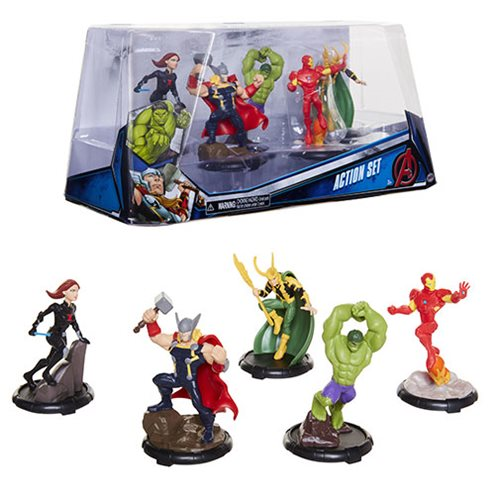 Marvel Avengers Figure Set