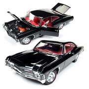 1967 Chevy Impala SS 427 Muscle Car and Corvette Nationals Show Die-Cast Metal Vehicle