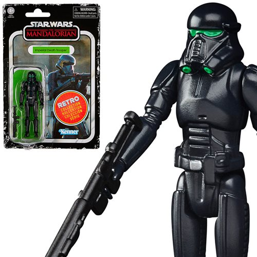 Star Wars Retro Collection Imperial Death Trooper Figure