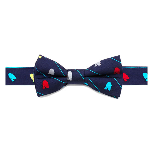 Star Wars R2-D2 Striped Boys Silk Bowtie
