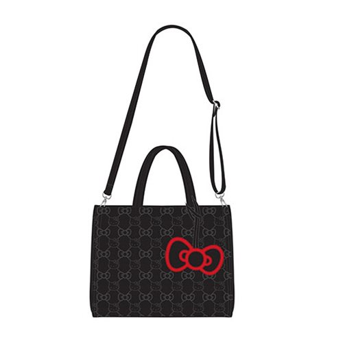 Hello Kitty Bow Quilted Tote Purse