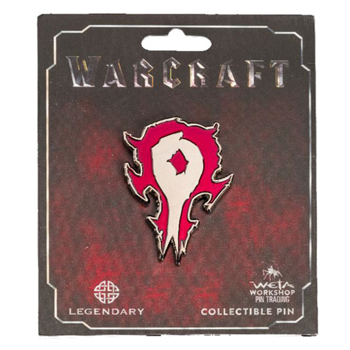 World of Warcraft Horde Icon Collector's Pin