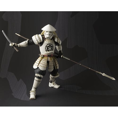 Star Wars Yari Ashigaru Storm Trooper Meisho Movie Realization Action Figure P-Bandai Tamashii Exclu
