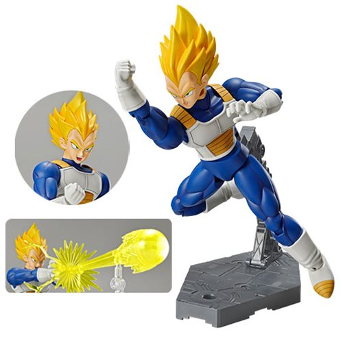 Dragon Ball Z Super Saiyan Vegeta Figure Rise Standard Model Kit