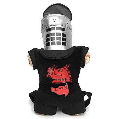 Monty Python Black Knight Plush Backpack