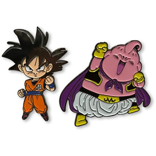 Dragon Ball Super Goku and Buu Pin Set