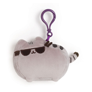 Pusheen the Cat with Sunglasses Clip-On Backpack Plush