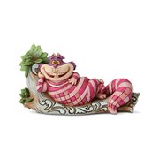 Disney Traditions Alice In Wonderland Cheshire Cat on Tree The Cat's Meow Statue by Jim Shore