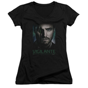 Arrow TV Series Good Eye Juniors V-Neck T-Shirt