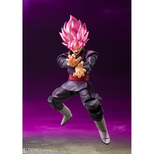 Dragon Ball Super Goku Black Super Saiyan Rose S.H.Figuarts Action Figure