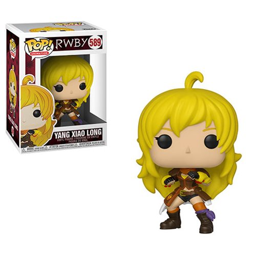 RWBY Yang Xiao Long Pop! Vinyl Figure, Not Mint