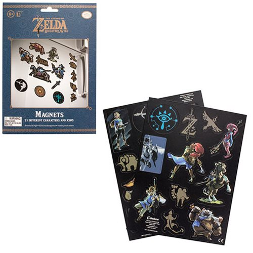 The Legend of Zelda Magnet Set
