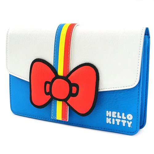 Hello Kitty Striped Fanny Pack