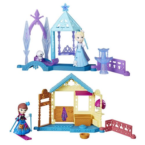 Frozen Small Doll Mini Playsets Wave 1 Set
