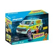Playmobil 70286 Scooby-Doo! Mystery Machine with Fred, Daphne, and Velma Action Figures
