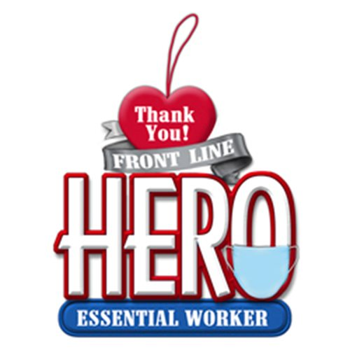 Essential Worker 3 1/4-Inch Resin Ornament