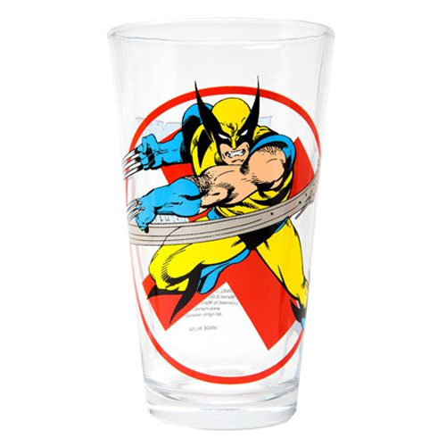Wolverine Classic Collection Toon Tumbler Pint Glass