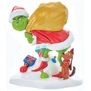 The Grinch and Max Plastic Statue