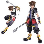 Kingdom Hearts III Bring Arts Sora 2nd Form Version 6-Inch Action Figure - Previews Exclusive