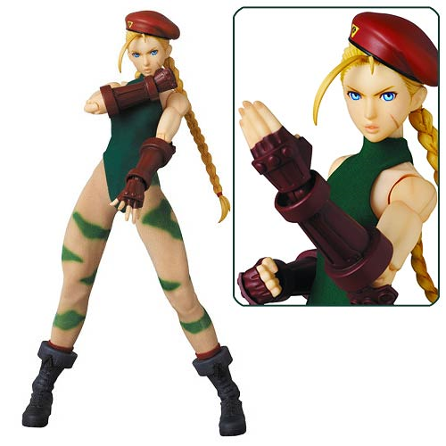 Street Fighter IV Cammy Real Action Heroes 12-Inch Action Figure