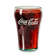 Coca-Cola Glass Funky Chunky Magnet