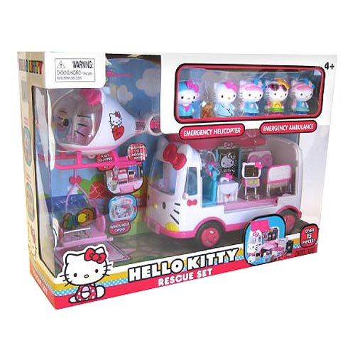 Hello Kitty Rescue Playset