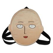 One-Punch Man Saitama Face Plush Backpack