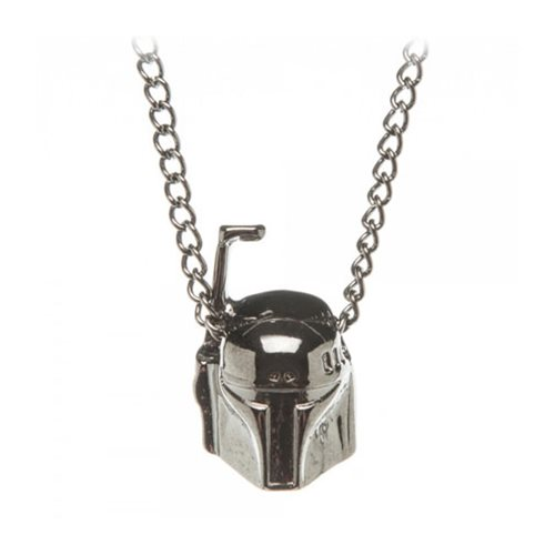 Star Wars Boba Fett Colorless 3D Necklace