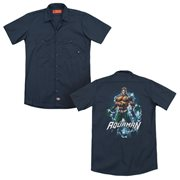 Aquaman Water Powers Work Shirt