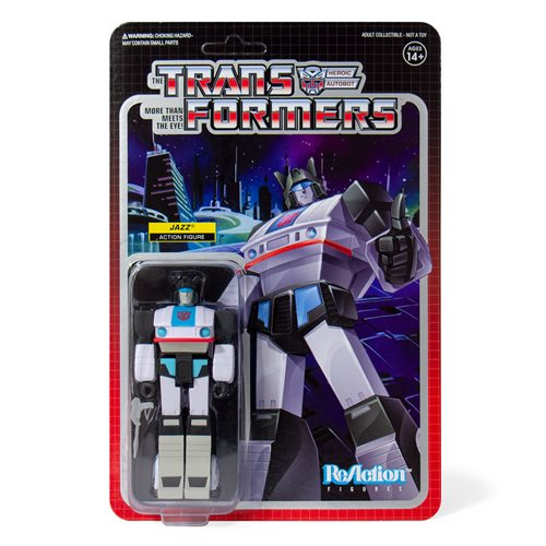 Transformers Jazz 3 3/4-Inch ReAction Figure, Not Mint