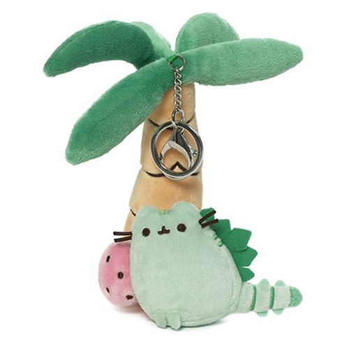 Pusheen the Cat Pusheenosaurus Super-Deluxe Clip Plush Key Chain