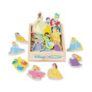 Disney Princesses Wooden Magnets