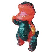 Gogamejira Orange Mini-Sofubi Vinyl Figure