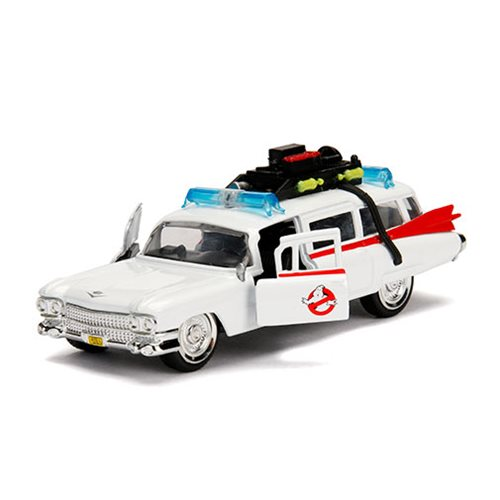 Ghostbusters Hollywood Rides ECTO-1 1:32 Scale Die-Cast Metal Vehicle