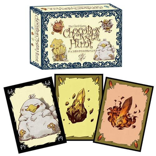 Final Fantasy Chocobo's Crystal Hunt Card Game